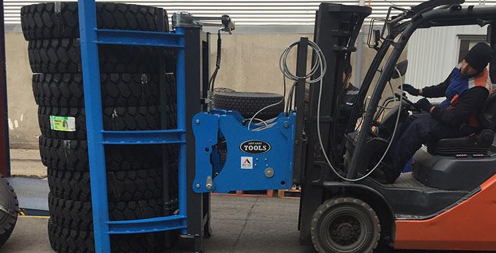 Manipuladores de neumáticos