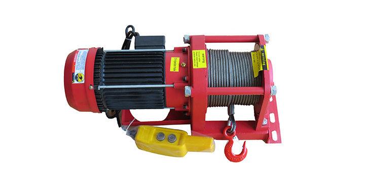 Winche Industrial Eléctrico 500 Kg.